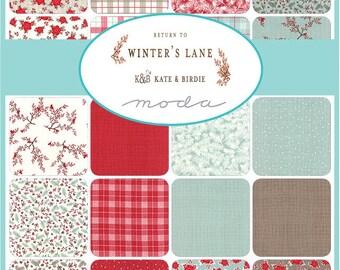 Return to Winter's Lane Bundle - Kate and Birdie Paper Co - Moda Fabrics - Christmas Fabric