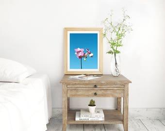 Orchid Print, Orchid, Orchid Wall Art, Orchid Printable Art, Orchid Digital Wall Art, Nursery Decor, Bedroom Wall Art