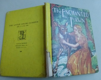 Vintage Childrens Book  The Enchanted Fawn Illustrated by Robert Graef