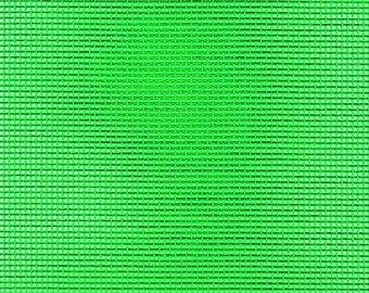 """Vinyl Mesh Fabric, Choose Color - 36"""" Wide, Sold by the Half Yard - Available in Green, Red, White, Yellow or Orange"""
