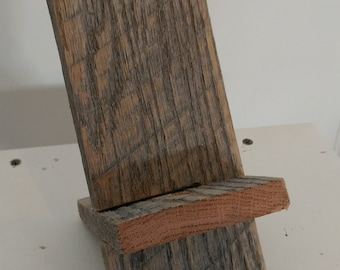 Rustic Cell Phone Stand