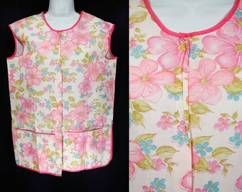 Vintage 60's Deadstock FRUIT Of THE LOOM Smock Apron M