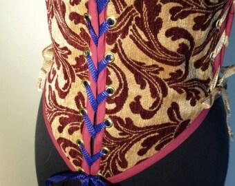 Handcrafted corset
