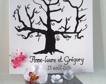 "tree prints 40 x 40 ""tree of love"""