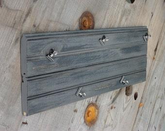 Gray Bead board Clip Board, Photo Clip Board, Rustic Picture Frame, Message Clip Board, Rustic Kitchen Decor