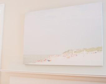 """30"""" x 40"""" Cape Cod """"Dennis Beach"""" Canvas Print"""