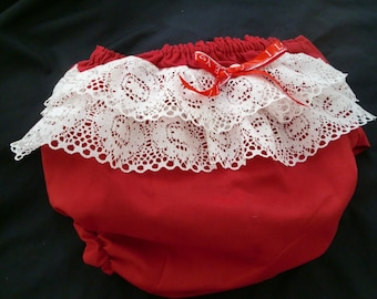 RUFFLES BLOOMERS / Diaper Cover  @@ Sizes from newborn to 24 Mo. @@