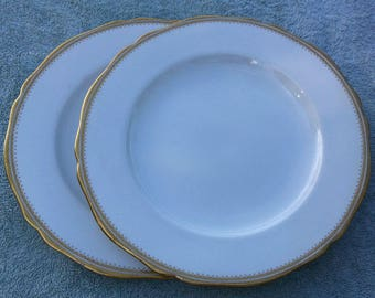 Burley & Co. Chicago Copeland England 2 dinner plates
