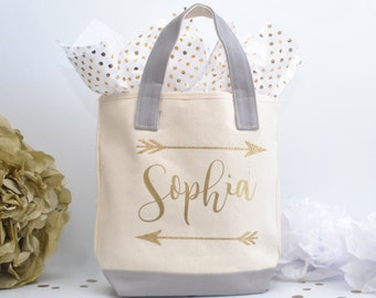 Personalized Bridesmaid Tote Bag, Bridal Party Tote, Wedding Party Tote, Bridesmaid Gift, Canvas Tote, Bridal tribe, Bridesmaid Gift