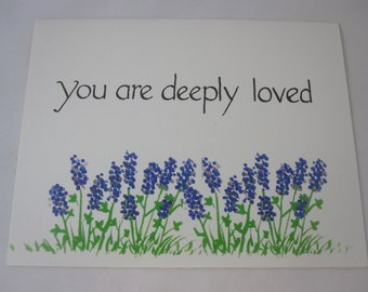 You are Deeply Loved - Individual Card