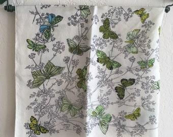Rare Butterfly 'Liberty' Silk Scarf