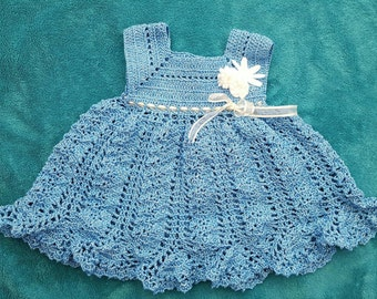 Crochet dress - newborn