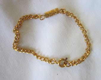 Vintage Gold Tone Necklace Chain Extension
