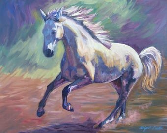 Forward Momentum - Oil Painting Reproduction Print