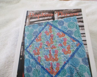 "Paper Pattern for a quilt called Daphne Throw by Valori Wells 60"" square"