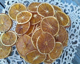 Dried oranges whole slices peel orange ornament wreath making ornaments slice _ SET of 12, 25, 50, 100 pcs