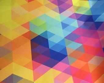 PUL, polyurethane laminate fabric, diaper fabric, waterproof fabric, Fractured light print
