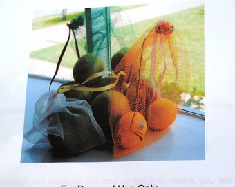 Lauren's Produce Bags PDF Sewing Pattern