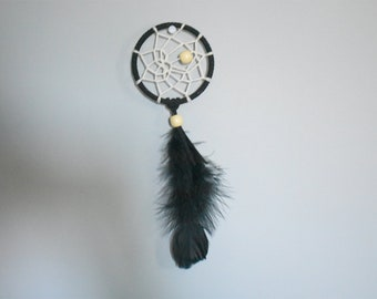 Mini black dreamcatcher