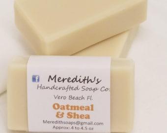 Oatmeal & Shea Butter Bar Soap