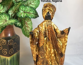 Abimbola, Sherika Queen Statue, Welcome to Wakanda Collection, size 3, 11 inches