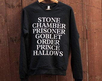 Books Sweatshirt (The Original) - inspired Harry Potter Sweatshirt - by So Effing Cute