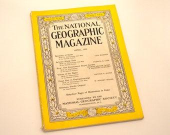 April, 1950, National Geographic Magazine, Vintage Magazine, 50's Magazine, Spain, Sheep
