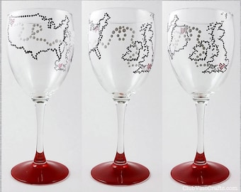 Made to Order: Handpainted Friendship Countries Glassware