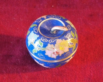 Cutest Little Cloisonné Apple