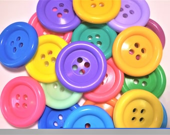 5 Cute as a Button- Big Button Soaps-Baby Shower Favor-Seamstress Gift- Party Favor