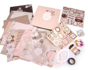 Scrapbooking Kit, elegance (1168)