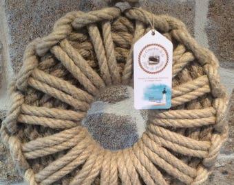 Wreaths - Decoration Navy - Marine - rope knots