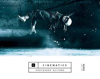 Cinematics Photoshop Actions
