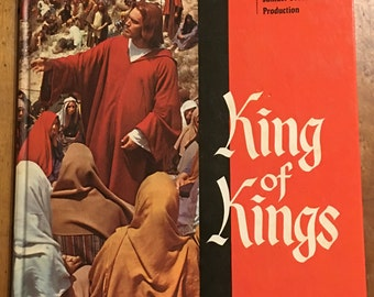 King Of Kings = MGM Motion Picture Production Book, Hardcover Press Book, 1961