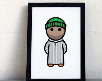 Card 003·M  Moroccan man