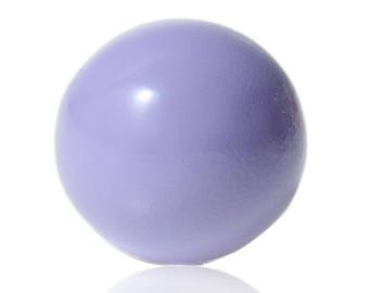 A musical 16 mm purple harmony ball bead.