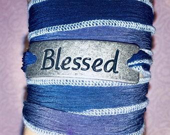Blessed bracelet - Bohemian wrap bracelet - Blessed statement wrap