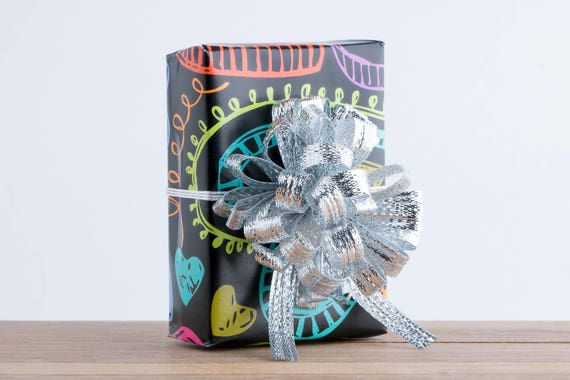 Gift Wrapping Service Add on - Heart Doodle Gift Wrapping