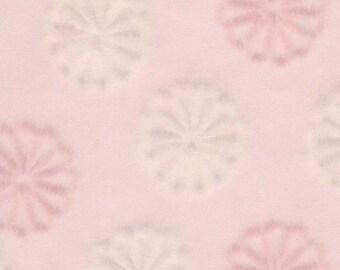 Kiku - pink, Japanese chrysanthemum, 5 letter-sized sheets