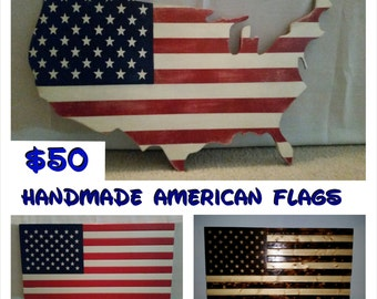American Wood Flags,American Flags,USA Flags,USA Wood Flags,Handmade USA Wood Flags,Wall Decor,Home Decor