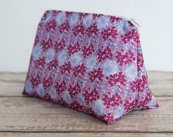 Waterproof Floral Washbag