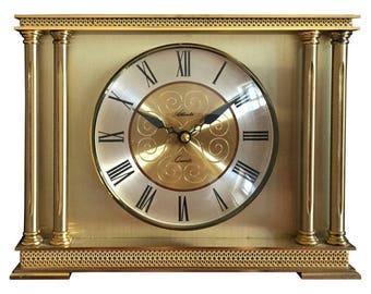 Atlanta Brass Mantel Clock