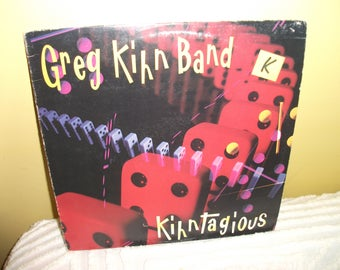 Greg Kihn Band Kihntagious Vinyl Record album GREAT CONDITION