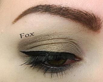 FOX - Handmade Mineral Pressed Eye Shadow