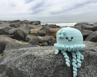 Jellyfish Crochet Pattern. Jane The Jellyfish Amigurumi Crochet Pattern. Ocean Amigurumi Pattern. Jellyfish Downloadable PDF Crochet Pattern