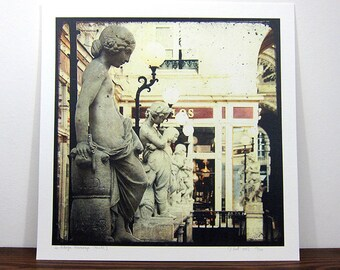 Passage Pommeraye - Nantes - digital photo 30 x 30 cm - signed and numbered