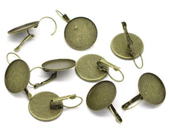 5 pairs of earring (pr 20mm) round tray
