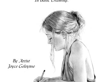 E-Book, How To Draw Realistically, Learn Pencil Art: PDF Tutorial. Instant Download, Learn Sketching, Shading, Realism Drawing