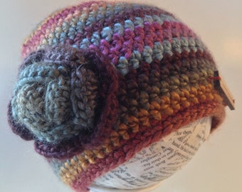 Beanie, winter rose hat