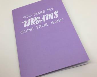 Dreams Come True Card